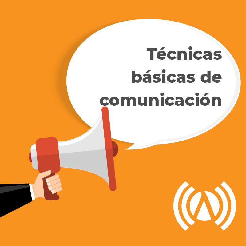 Formación en técnicas básicas de comunicación